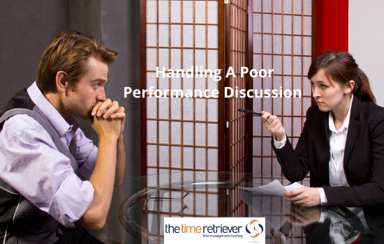 Handling A Poor Performance Discussion