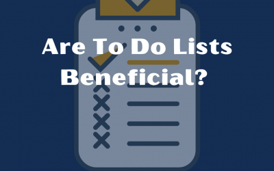Are To Do Lists Beneficial?